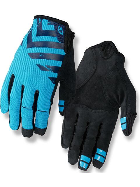 Giro DND Rękawiczka rowerowa niebieski/czarny